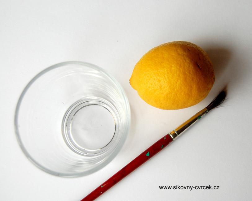 Tajemne Obrazky Ii Citron A Svicka Pokusy Pro Deti Sikovny Cvrcek